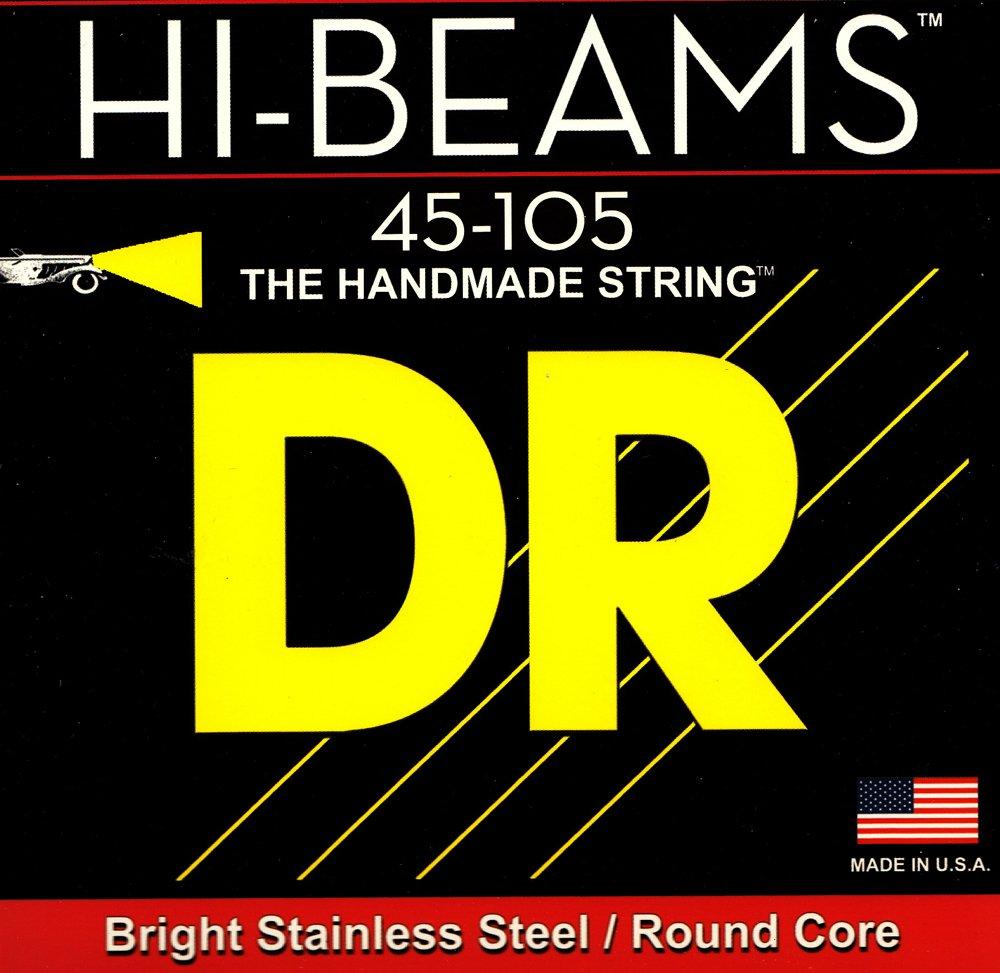 DR Strings Hi Beams Medium 4 String Bass Strings 45-105
