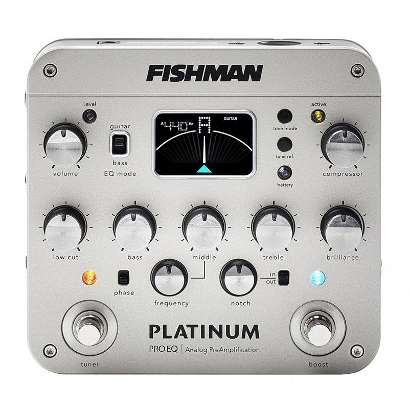 Fishman PRO-PLT-201 Platinum Pro EQ Analog Instrument Preamp