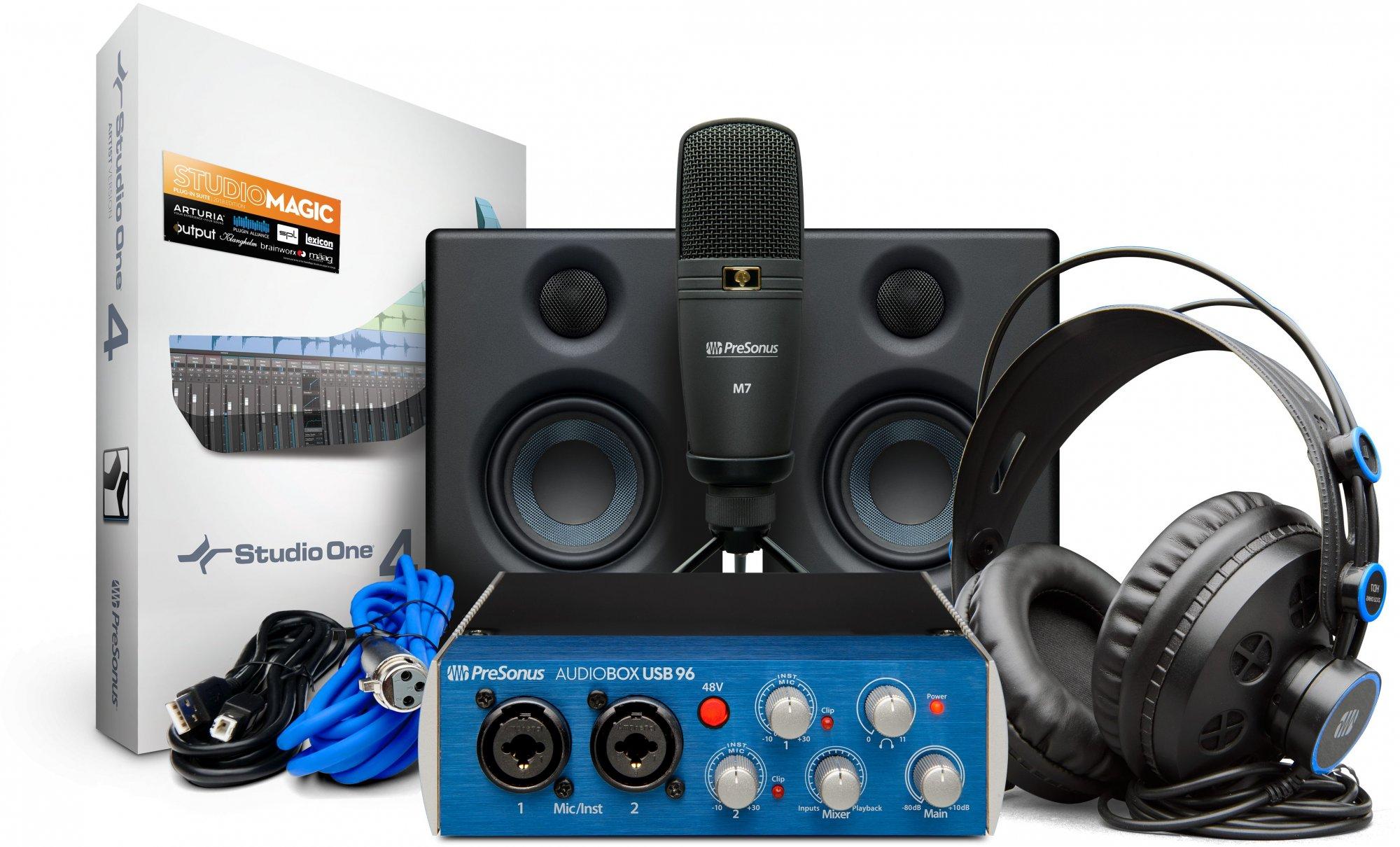 PreSonus AudioBox Studio Ultimate Recording and Production Studio Bundle