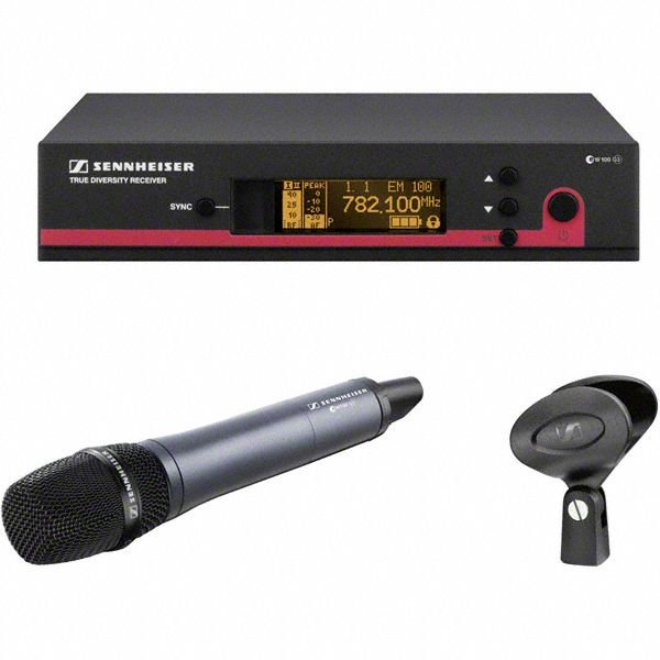 Sennheiser EW 135 G3 Handheld Wireless Microphone System - A Band