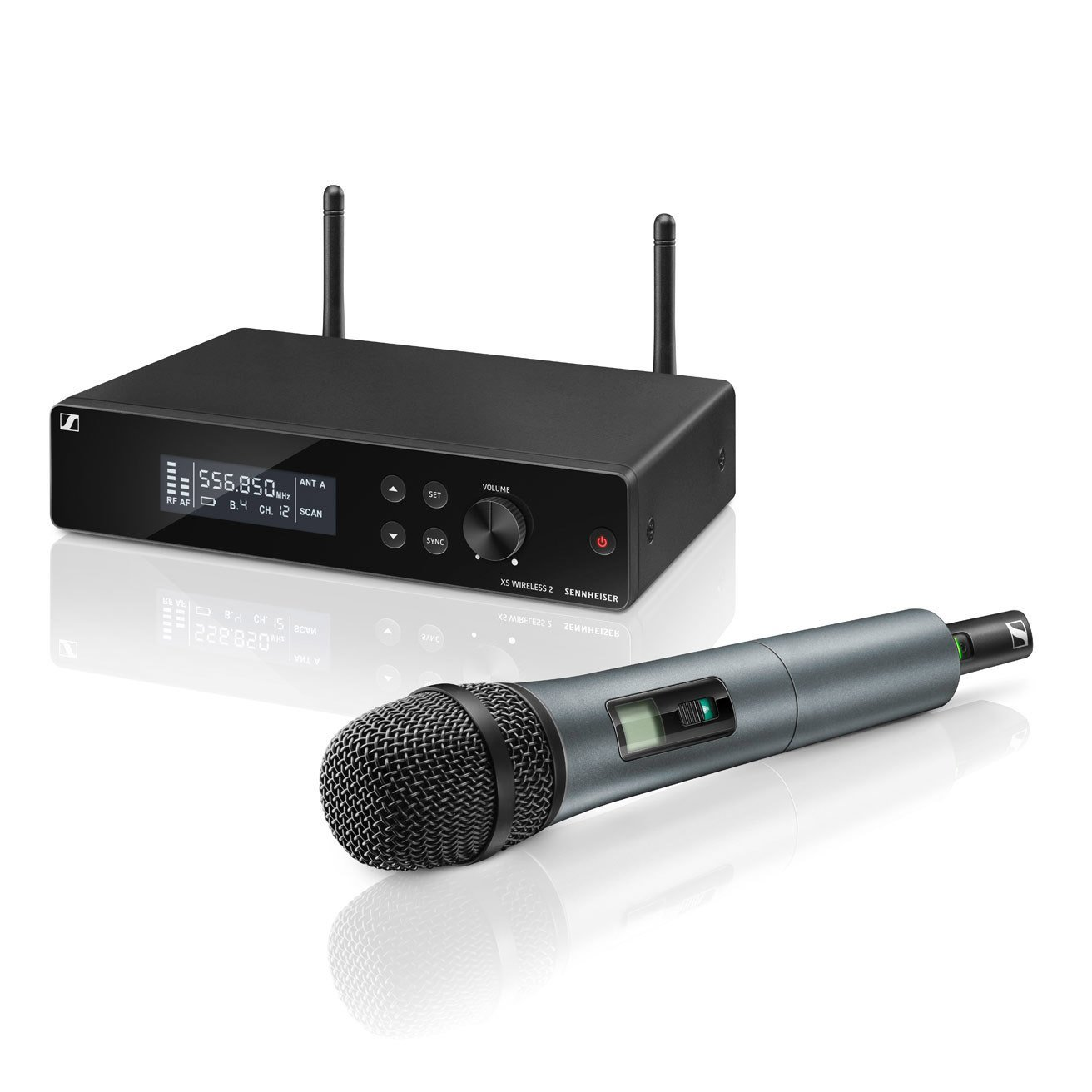 Sennheiser XSW 2-865 Wireless Handheld Microphone System - A Band