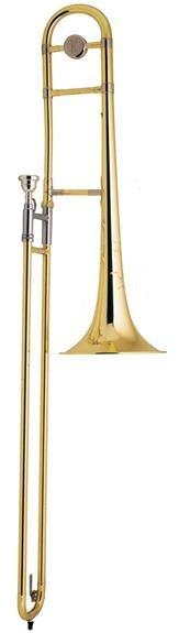 Bach TB200 Tenor Trombone - Clear Lacquer