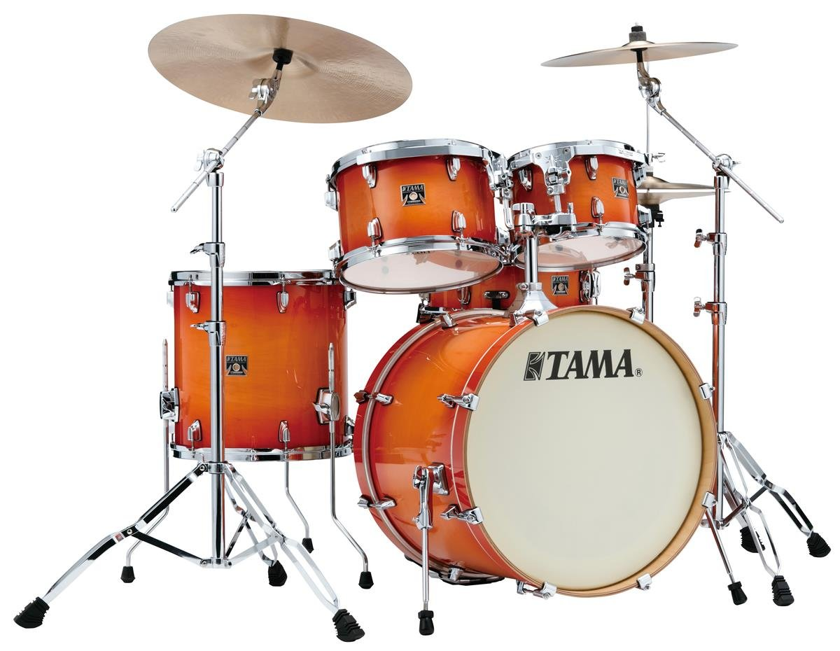 Tama Superstar Classic 5-Piece Drum Shell Kit - Tangerine Lacquer Burst