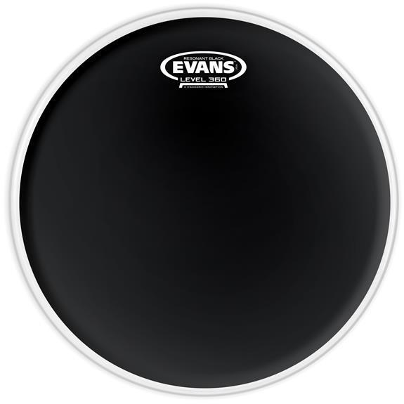 Evans Black Resonant Drumhead