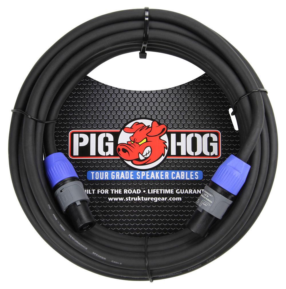 Pig Hog 25ft Speaker Cable SPKON to SPKON