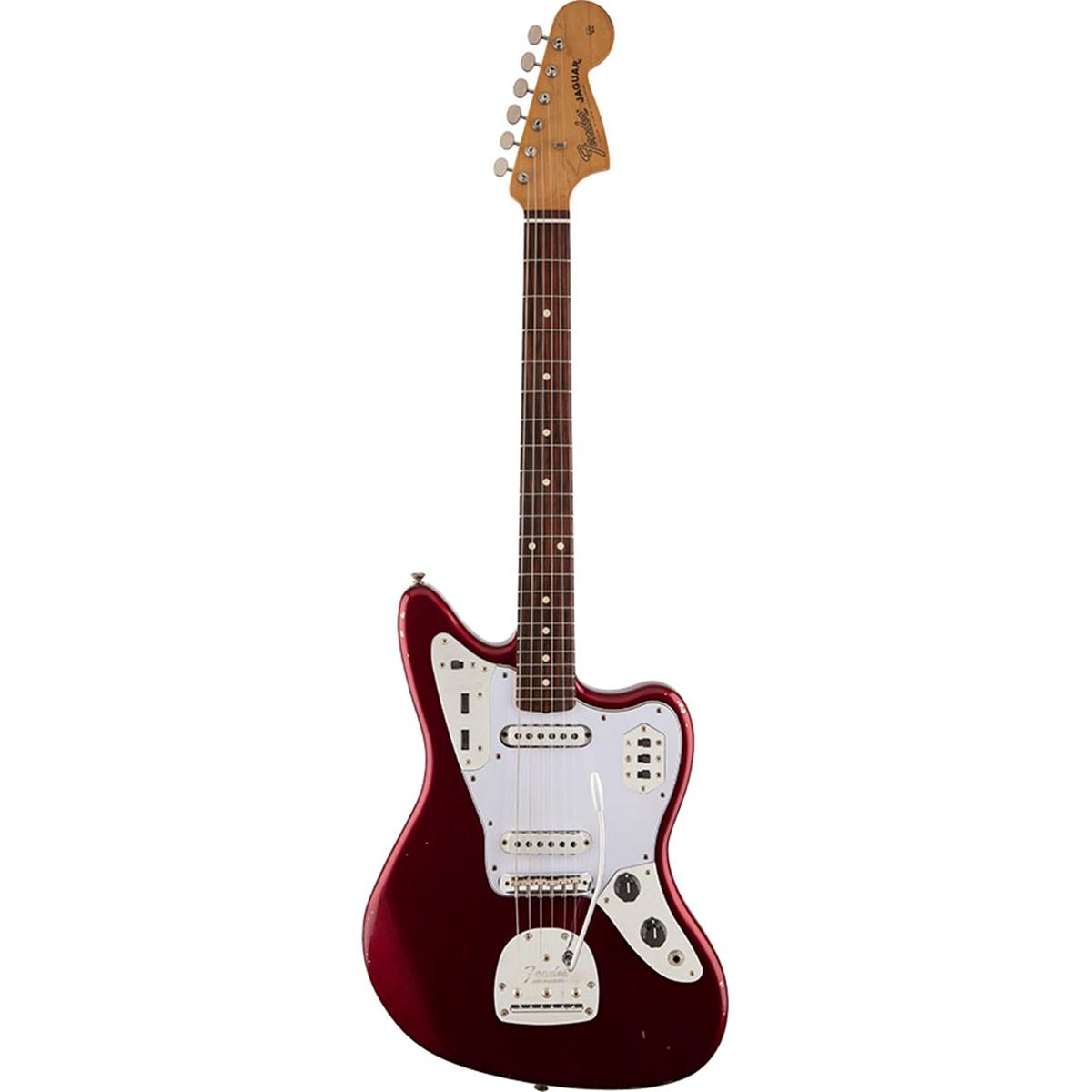 Fender Road Worn '60s Jaguar Electric Guitar - Candy Apple Red