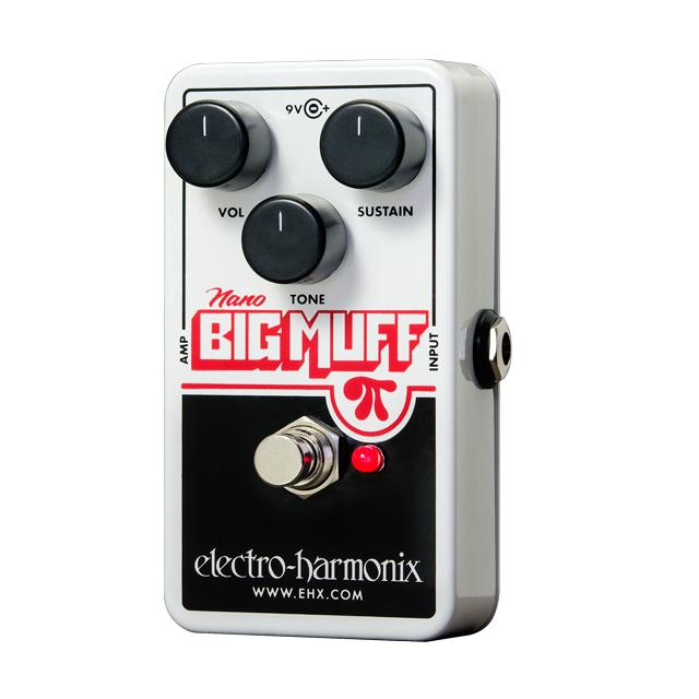Electro-Harmonix Nano Big Muff Pi Distortion / Fuzz / Overdrive Pedal