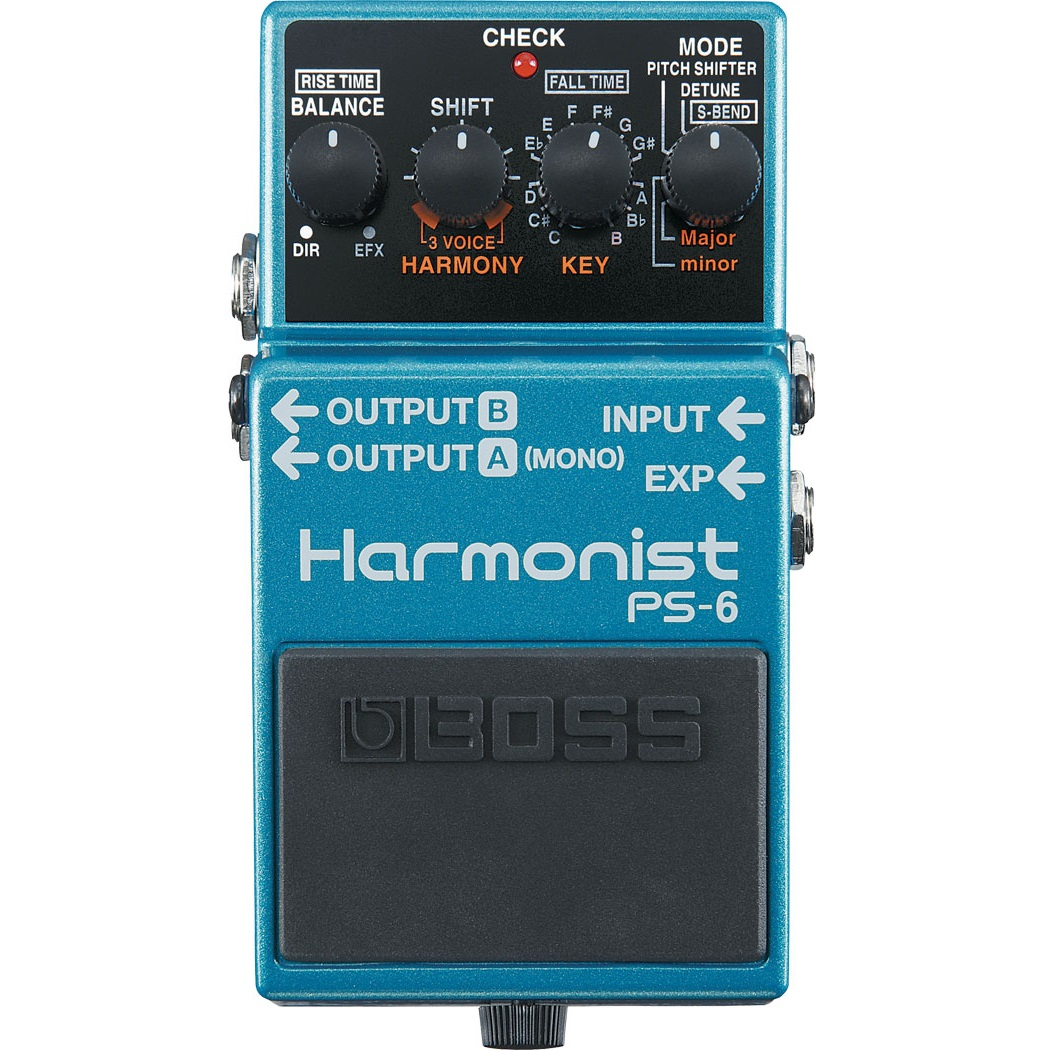 Boss PS-6 Harmonist Guitar Effect Pedal