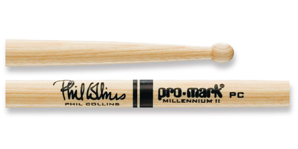 Promark Phil Collins Signature Hickory Drumsticks Sticks Schlagzeug Stöcke PC
