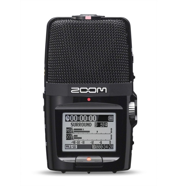 Zoom H2n Handheld Recorder with 4-Channel Surround Sound