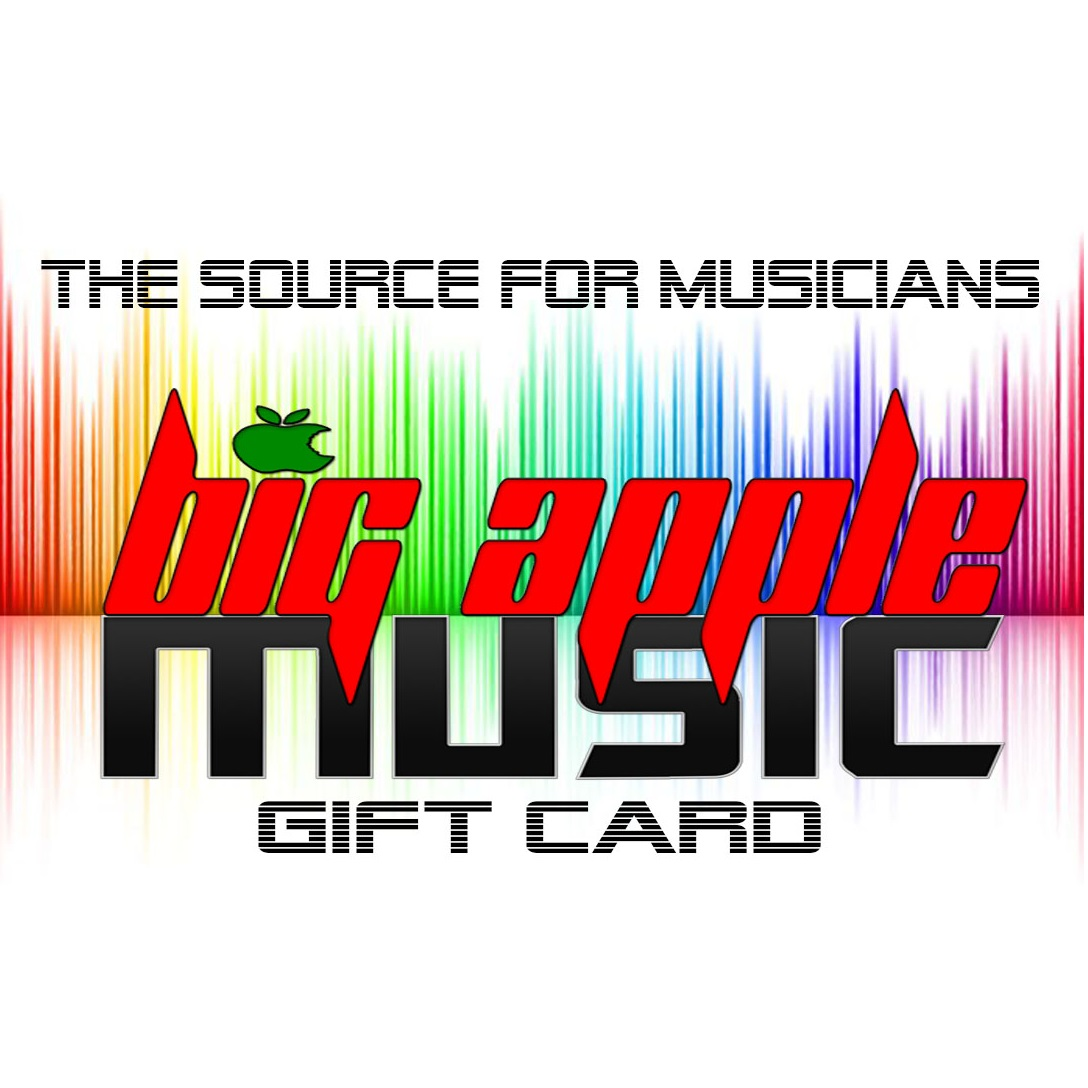 Big Apple Music $50 Gift Card