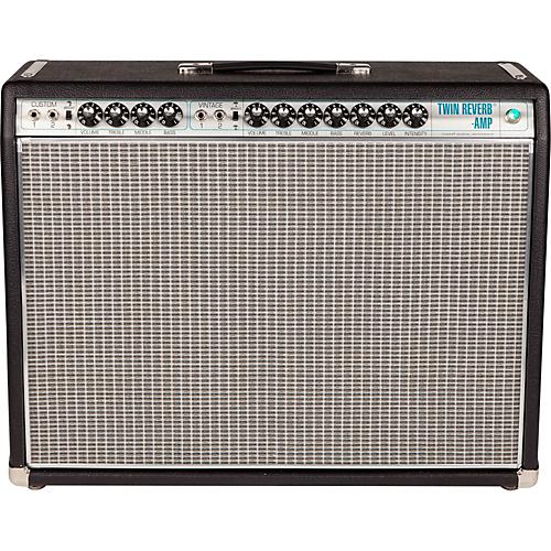 Fender '68 Custom Twin Reverb 85W 2x12 Tube Guitar Combo Amp with Celestion G12V-70s