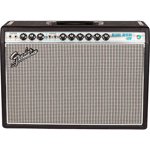 Fender '68 Custom Deluxe Reverb 22W 1x12 Tube Guitar Combo Amp
