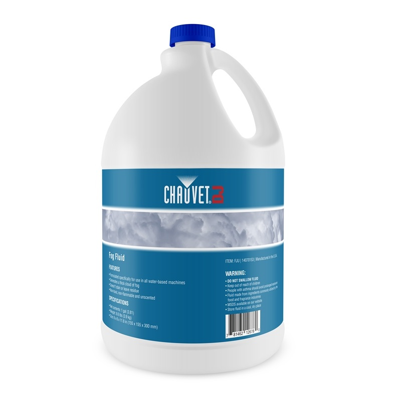 Chauvet High Performance Fog Fluid - Gallon