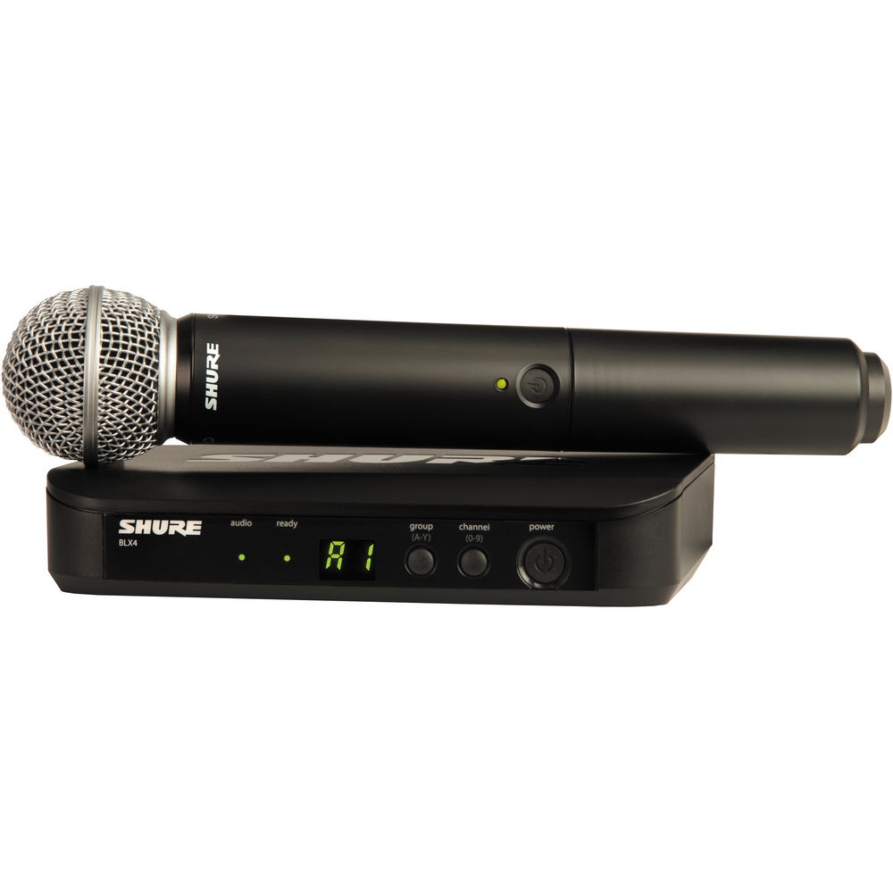 Shure BLX24/SM58 Handheld Wireless System - H10 Band