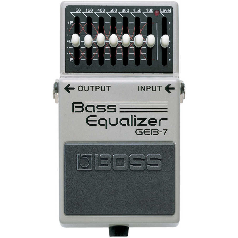 Boss GEB-7 Bass EQ Pedal