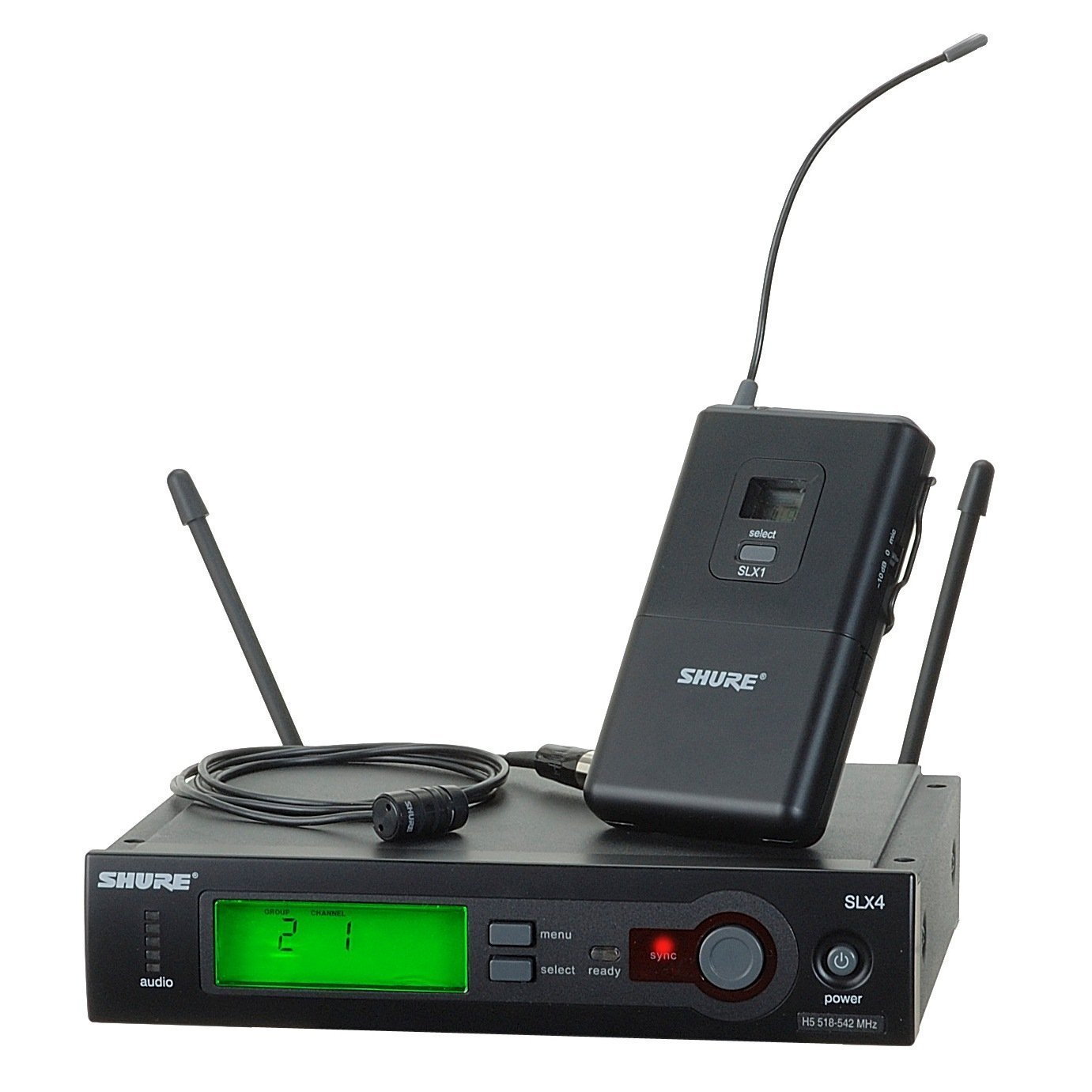 Shure SLX14/85 Wireless Lavalier System - G5 Band 494-518MHz