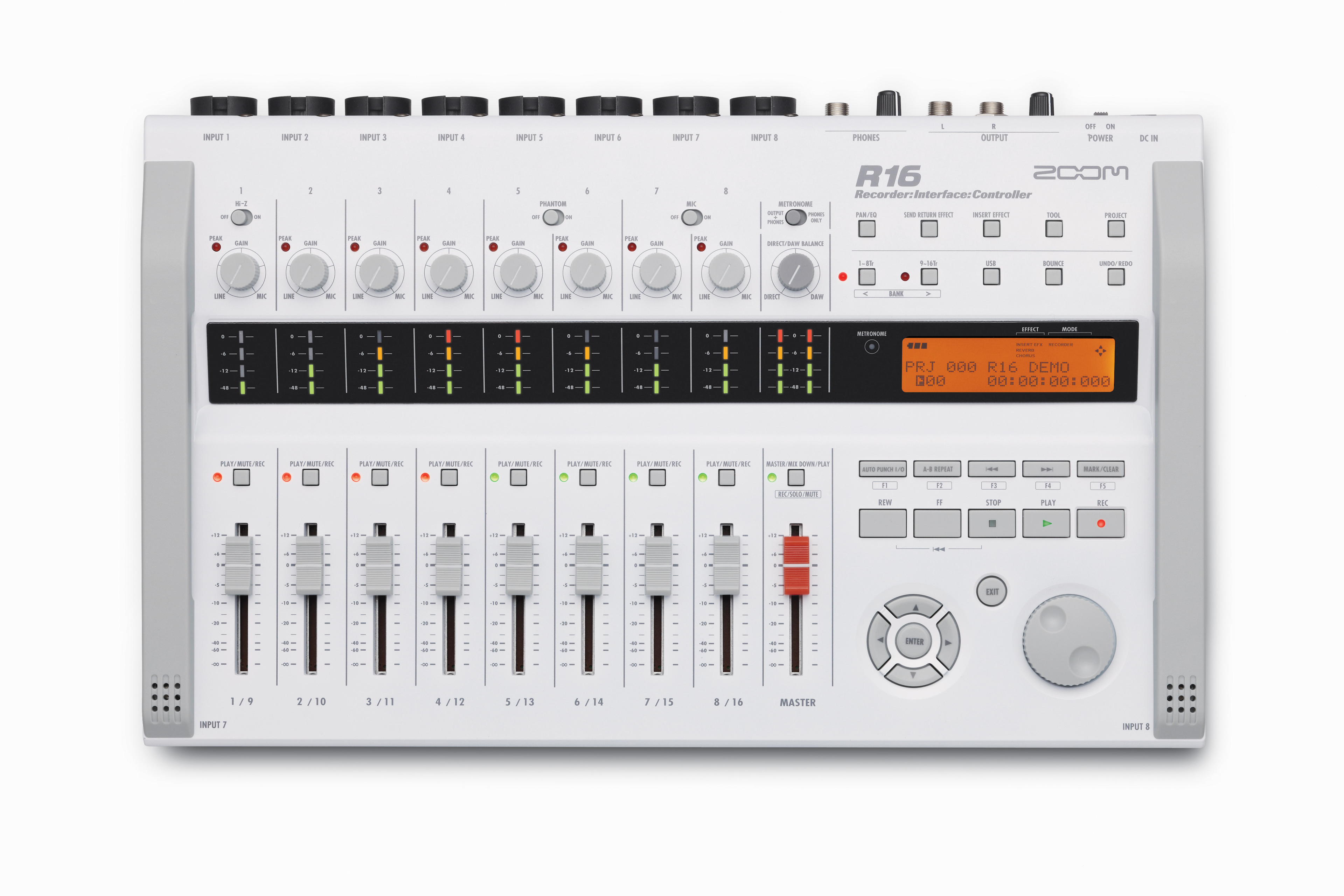 Zoom R16 Multitrack Recorder/Interface & Controller