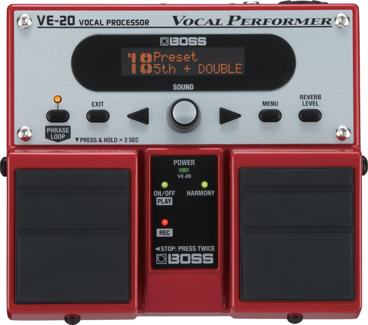 Boss VE-20 Vocal Processor Effects Pedal