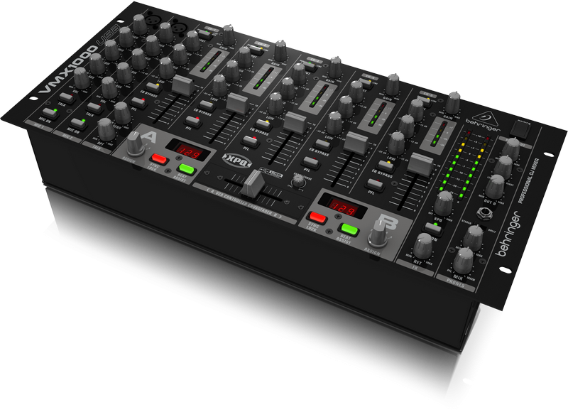 Behringer Pro Mixer VMX1000USB 5-channel DJ Mixer