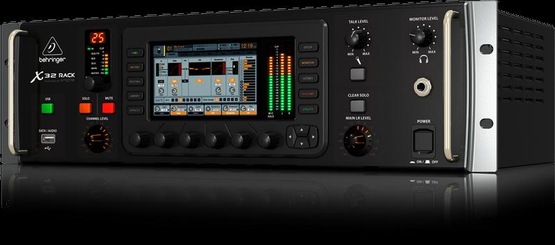 Behringer X32 Rack 40-input Channel 25-bus Digital Rack Mixer