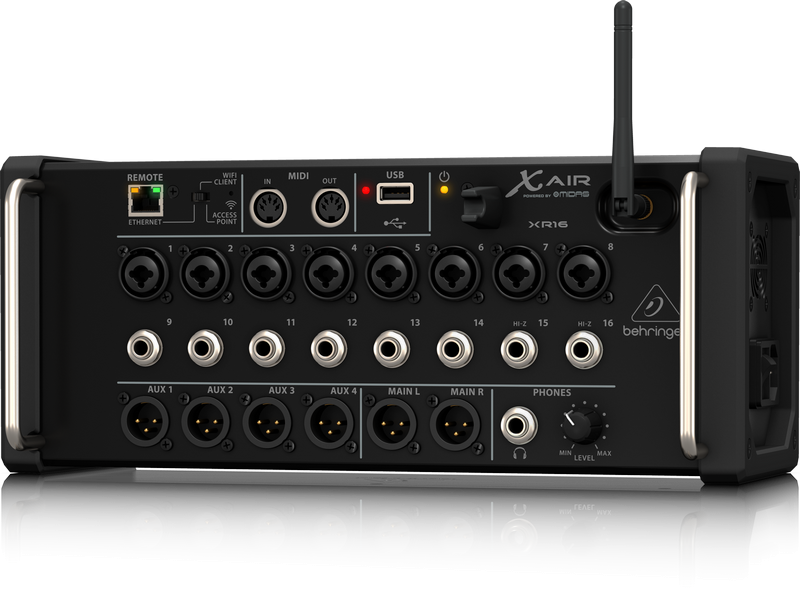 Behringer X Air XR16 Tablet Controlled Digital Rackmount Mixer