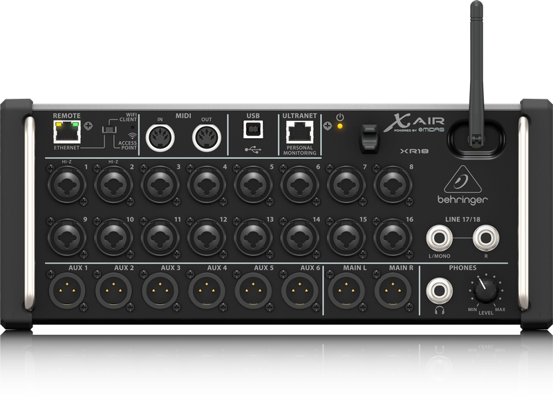 Behringer X Air XR18 Tablet controlled Digital Mixer