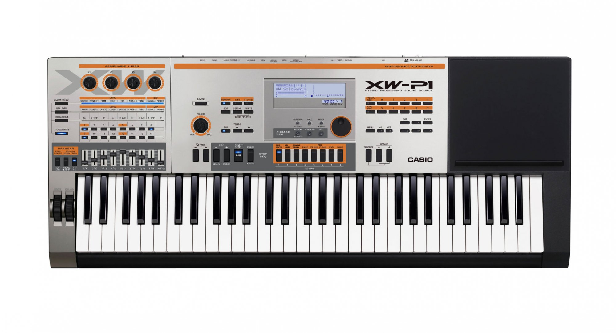 Casio XW-P1 61-Key Performance Synthesizer
