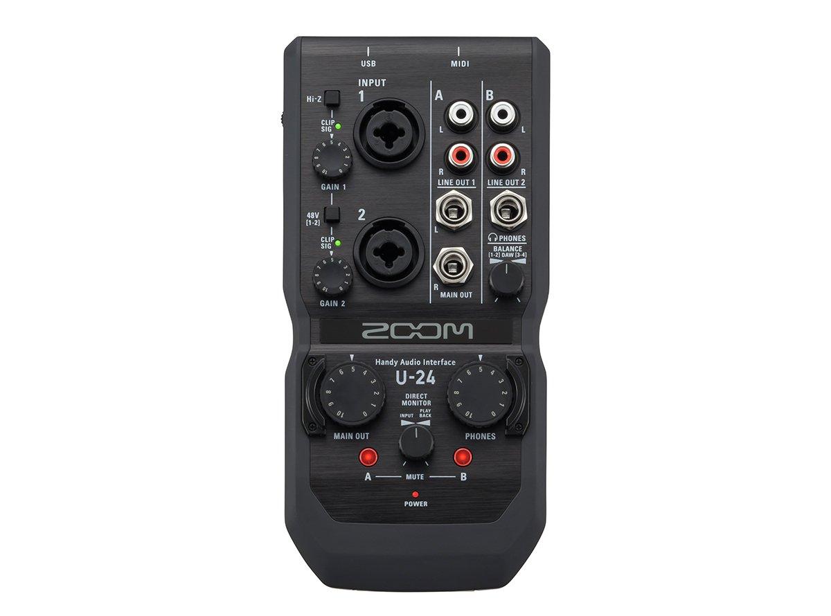 Zoom U-24 Handy USB Audio Interface