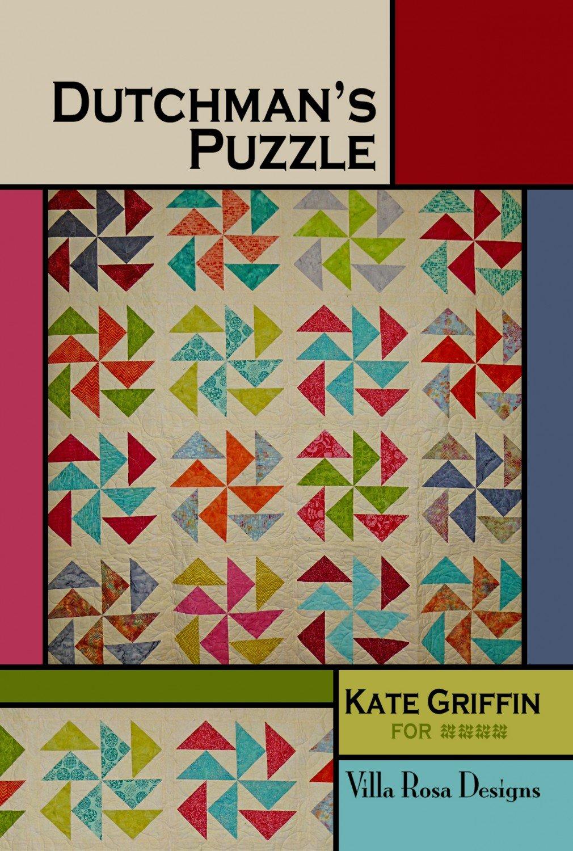 Dutchman's Puzzle Postcard Pattern