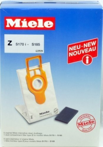 Miele Intensive Clean Vacuum Bags Type Z Upright
