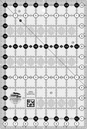 8.5x12.5 Creative Grids Non Slip Ruler