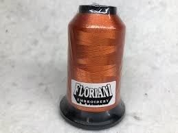 Floriani Polyester Thread PF0755 Burnt Orange