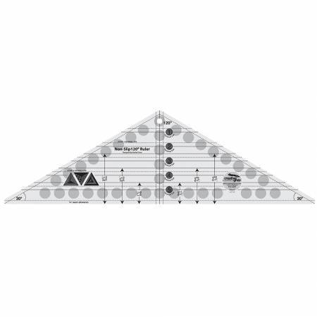 Creative Grids 120 Degree Triangle Ruler 6-1/2in x 21-1/2in