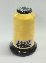 Floriani Embroidery Thread PF0011 Chalcedony Yellow