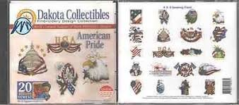 Dakota Collectibles - American Pride Embroidery CD
