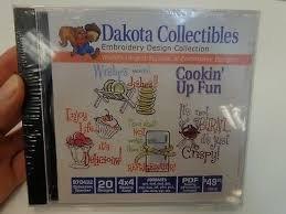 Dakota Collectibles - Cookin' Up Fun Embroidery CD