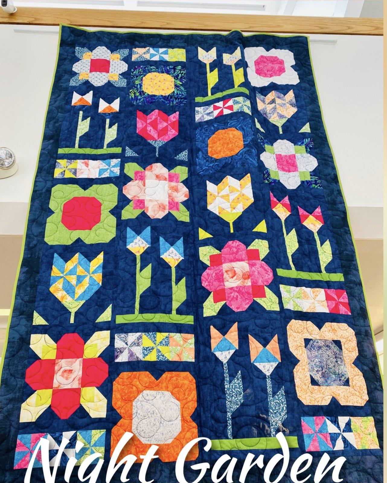 Night Garden Quilt Kit