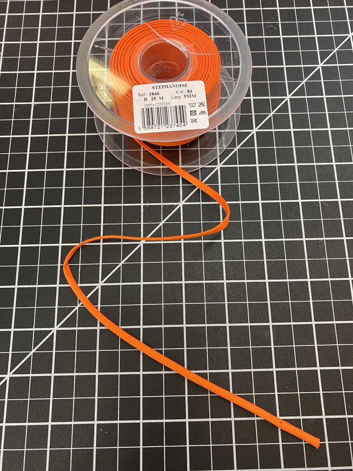 Pumpkin Cotton Spaghetti Cord