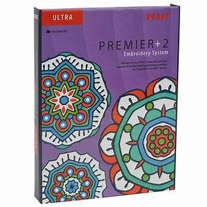 Pfaff Premier +2 Embroidery System Ultra Software