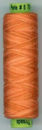 Sue Spargo Eleganza Size 8 Thread Pumpkin Rinds EZ90