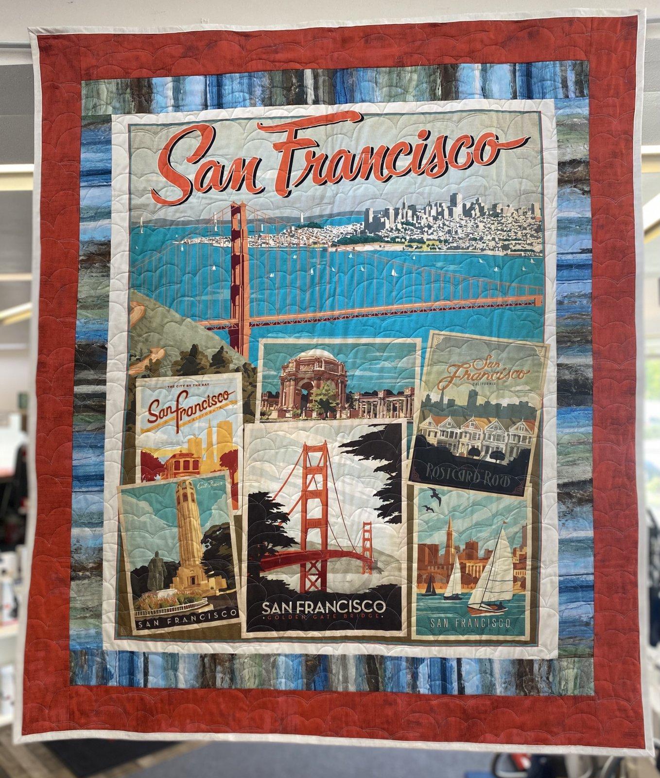 Golden Gate Beginner Panel Quilt Kit