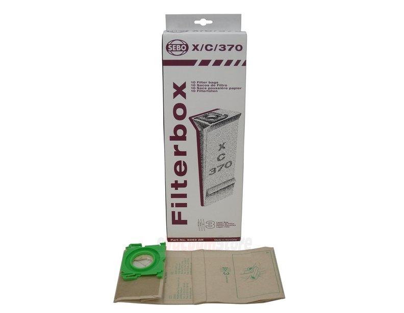 Sebo Filter Bag Box X,G