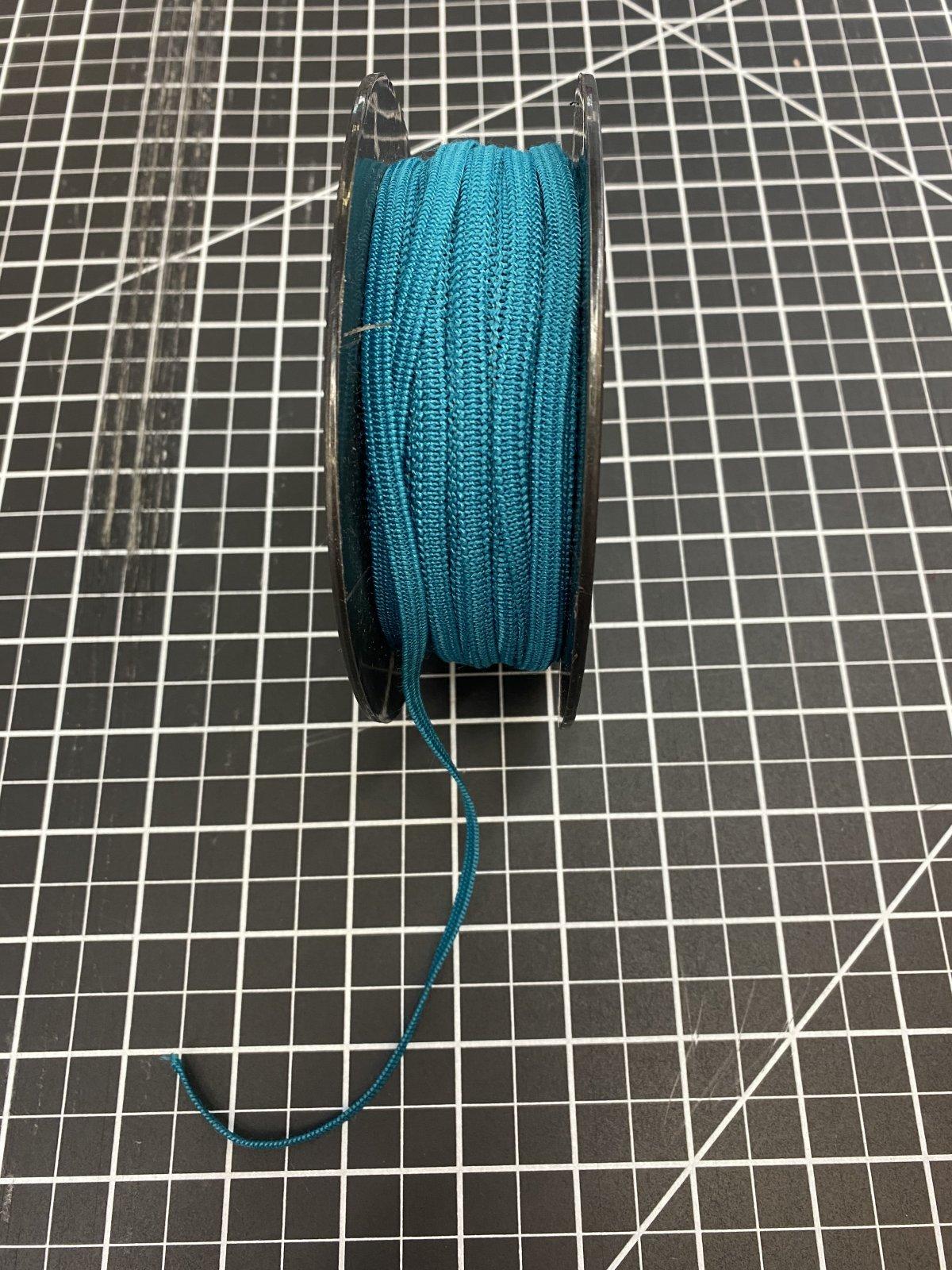 Turquoise Elastic 5 mm / .2