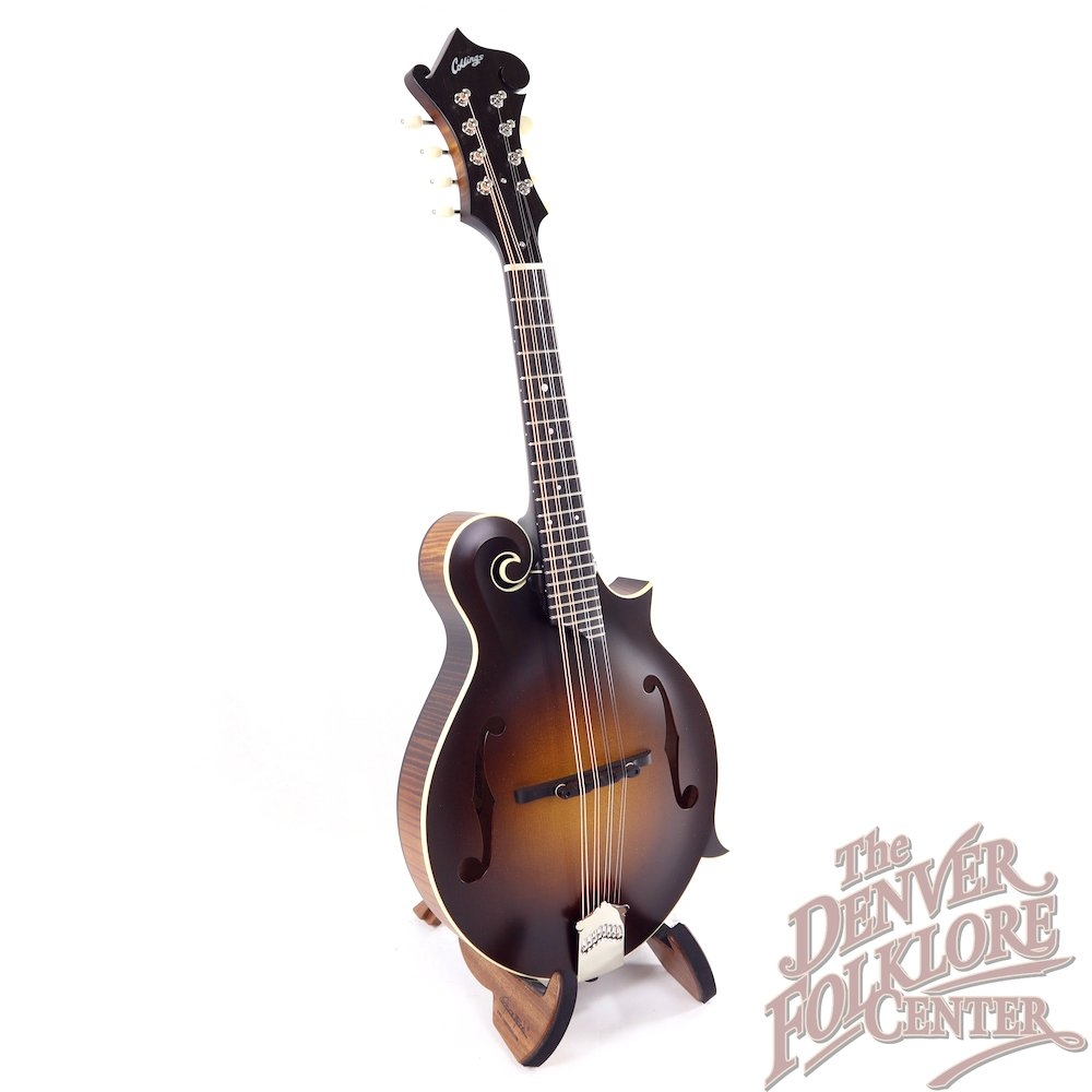 Collings MF Sunburst with Wide Nut and Ivoroid Binding