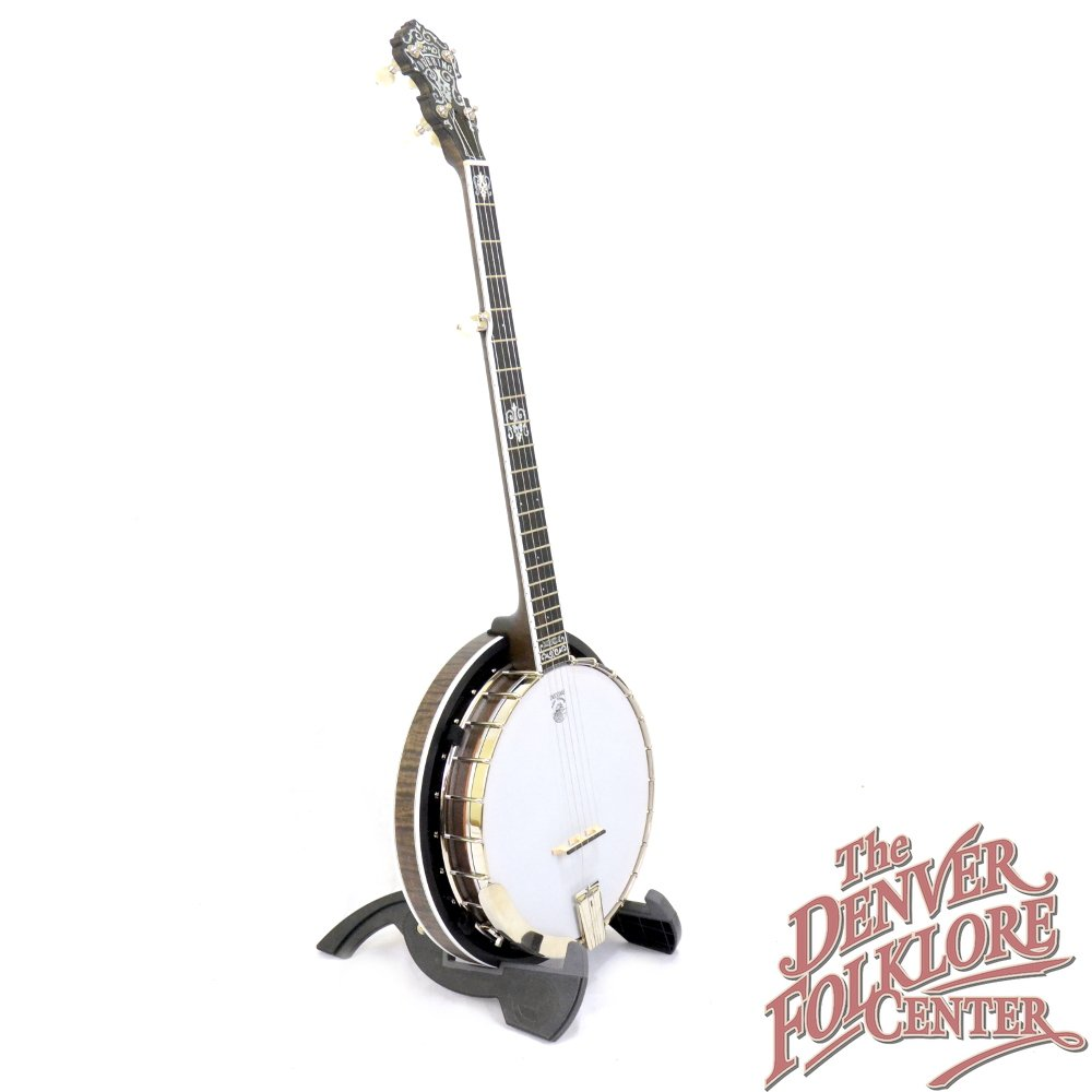 Deering John Hartford 5 String w/ Pop On Resonator
