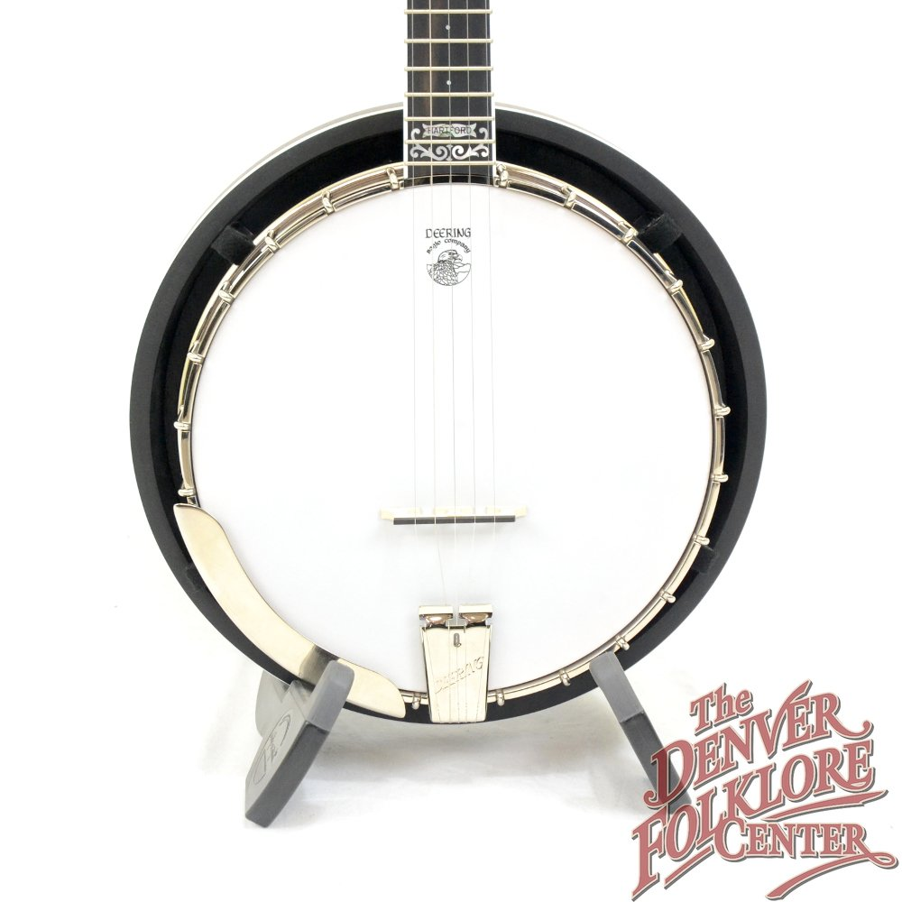 Deering John Hartford 5 String w/ Pop On Resonator