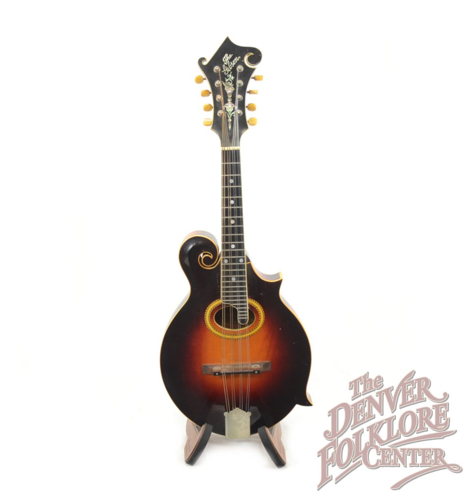 Gibson F-4 with Virzi Tone Producer (c.1919)