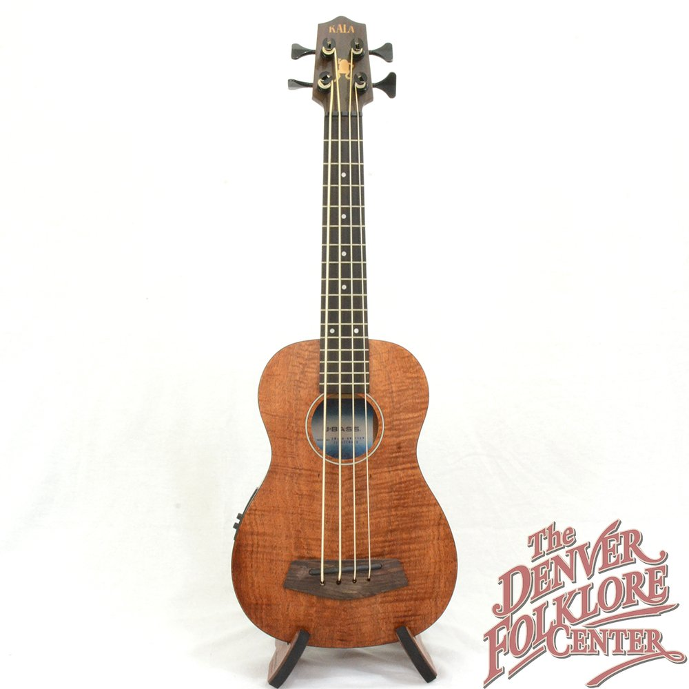 Kala UBASS-EM-FSRW Exotic Mahogany U-Bass