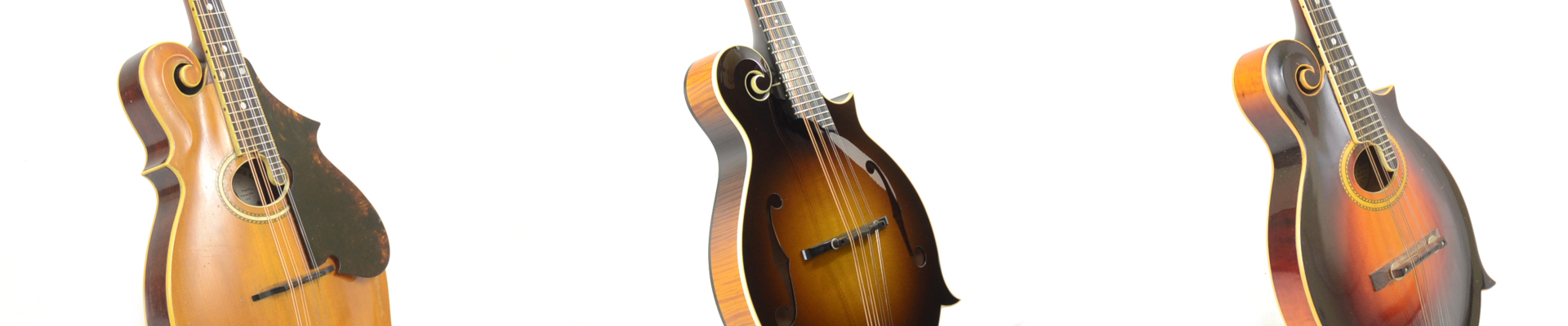 Three Mandolins Display